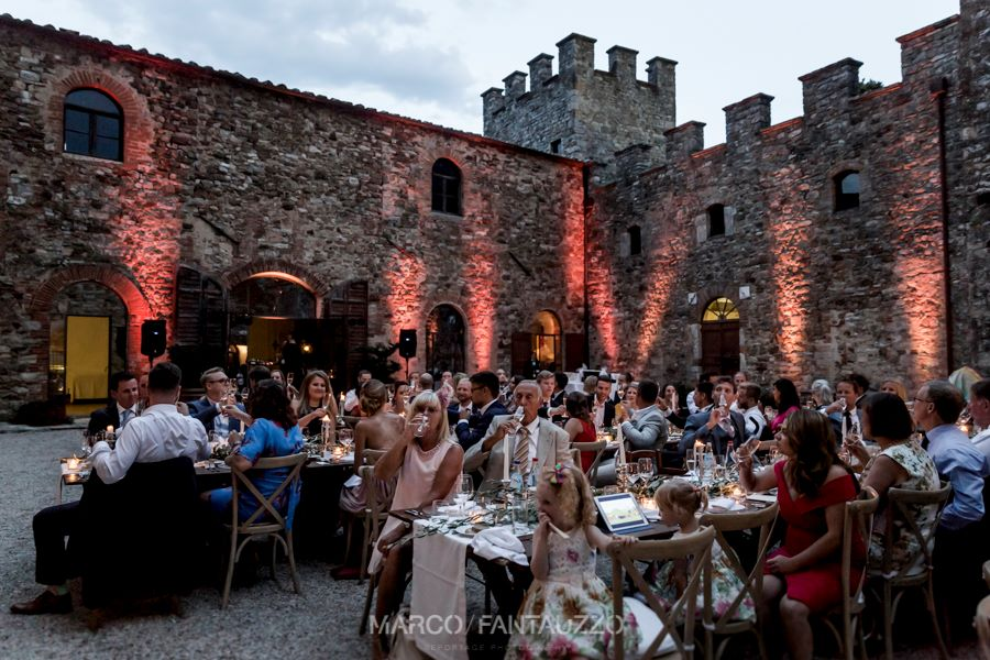 wedding in a tuscan castle