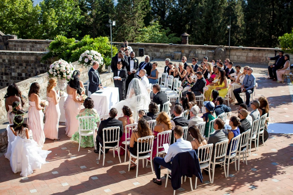 religious wedding in Italy